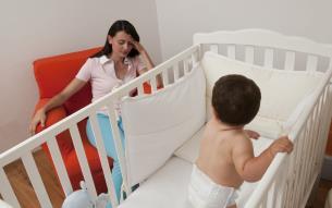 روش هایی برای مقابله با بی خوابی نوزاد